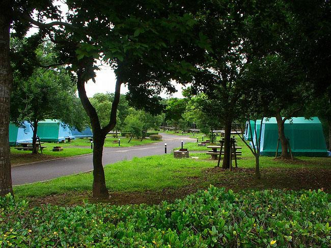 大崎公園オートキャンプ