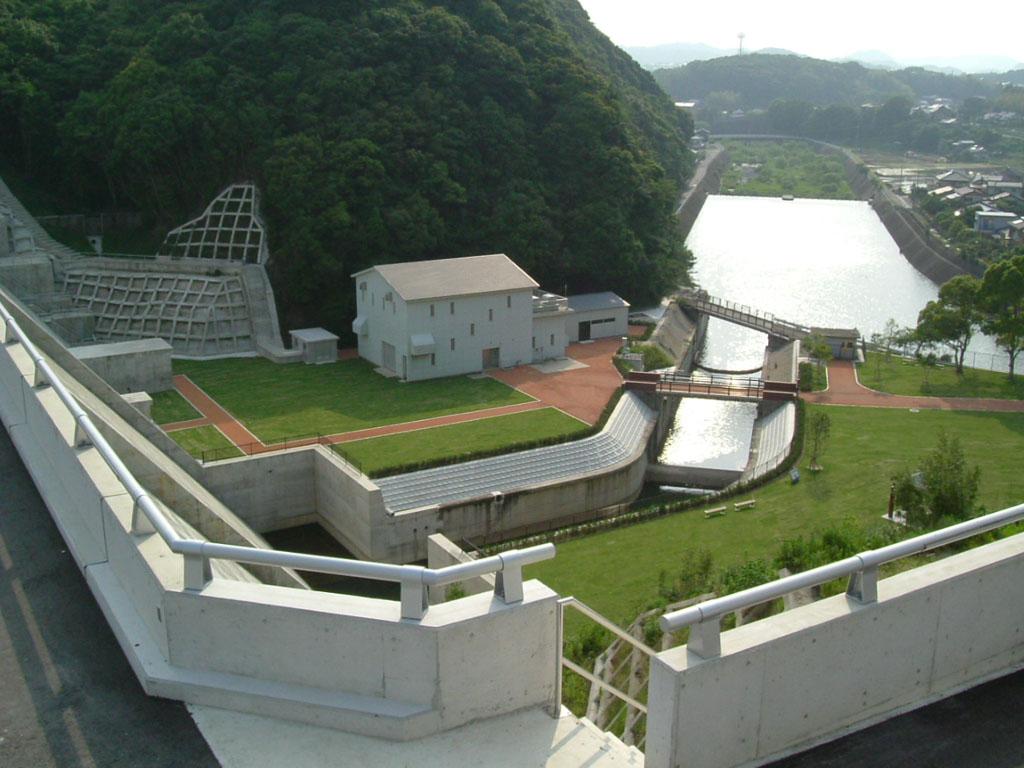 下の原ダム環境整備