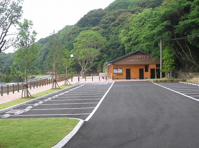 海洋スポーツ基地園地整備
