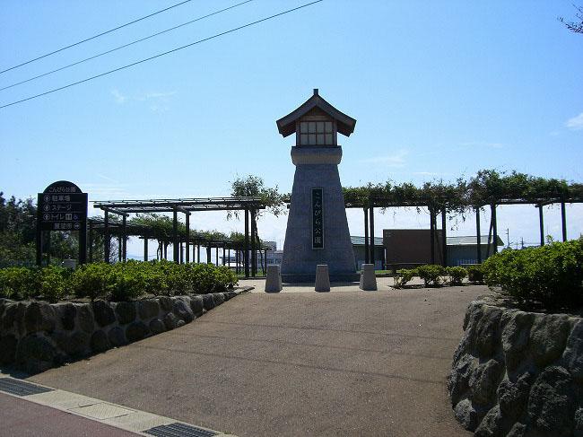 大崎鼻自然公園大灯篭